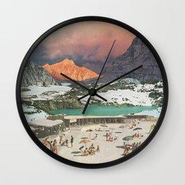 Jade Lake Resort Wall Clock