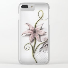 Shit who wants to be Clear iPhone Case