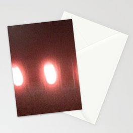 Abstracte Light Art in the Dark 6 Stationery Cards