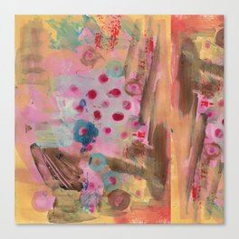 Spotted on Pink Canvas Print