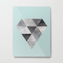 Minimalist and geometric stone II Metal Print