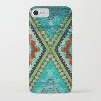 aztec iPhone & iPod Cases featuring AZTEC by ED design for fun