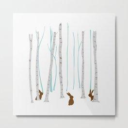 BrownRabbits Metal Print