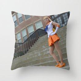 Beautiful Guardian Sailor Venus Throw Pillow