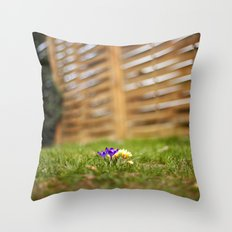 shrunk Throw Pillow