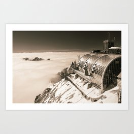 A place in the clouds Art Print