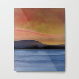 Abstract Landscape 02 Metal Print