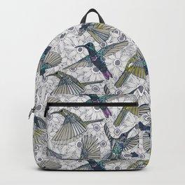 hum sun honey birds basalt Backpack