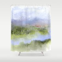 italian Shower Curtains featuring Italian Impressions by Jessielee