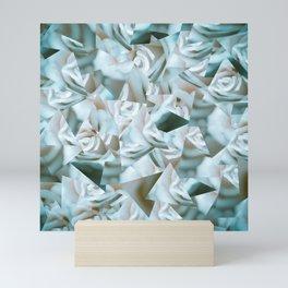 Abstract roses Mini Art Print