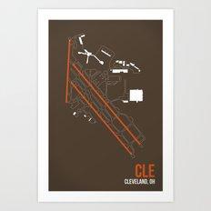 CLE Art Print