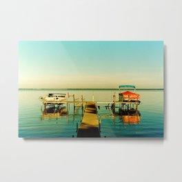 Houghton Lake Metal Print