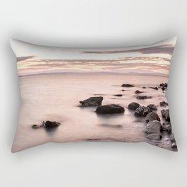 Disappearing clouds Rectangular Pillow