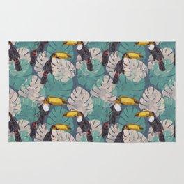 Tropical Toucan Rug
