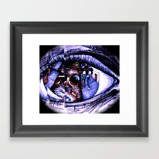 Iridology Framed Art Print