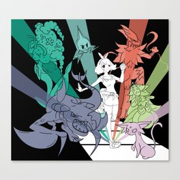Battle Team Canvas Print