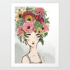 Faun Art Print