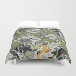 Aperture Science: All science, all the time Duvet Cover