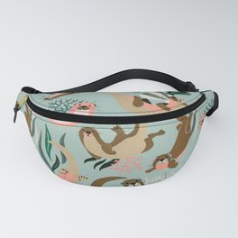 Otter Collection - Mint Palette Fanny Pack