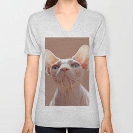 Sphinx Cat Unisex V-Neck