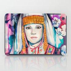 Girl  iPad Case