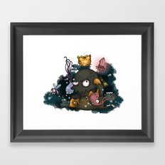 call of cthulhu Framed Art Print