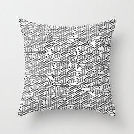 Microchip Pattern Throw Pillow