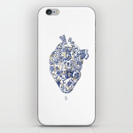 Broken heart - kintsugi iPhone Skin