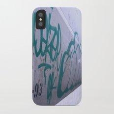 Train Garffiti  iPhone X Slim Case