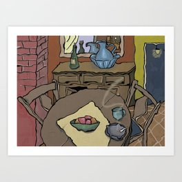 Dream Kitchen Art Print