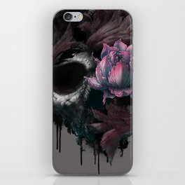Death Blooms iPhone Skin