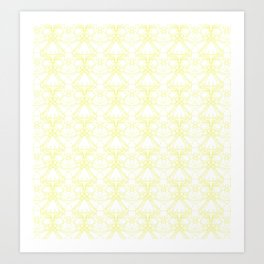 *YELLOW_PATTERN_2 Art Print