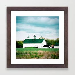 Barn in Pennington Framed Art Print