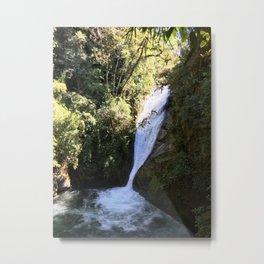 Talamanca Waterfalls Metal Print