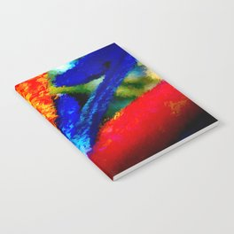 Bird of Paradise Abstract Notebook
