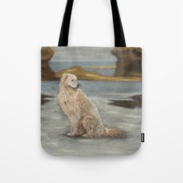 Oddball the maremma dog Tote Bag