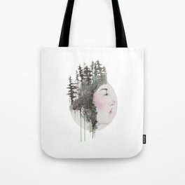 """""""Sometimes, even the snow is sad."""" Tote Bag"""