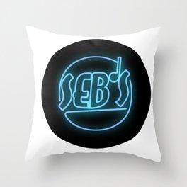 Seb's Throw Pillow