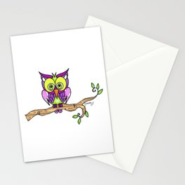 Hootie The Owl Stationery Cards