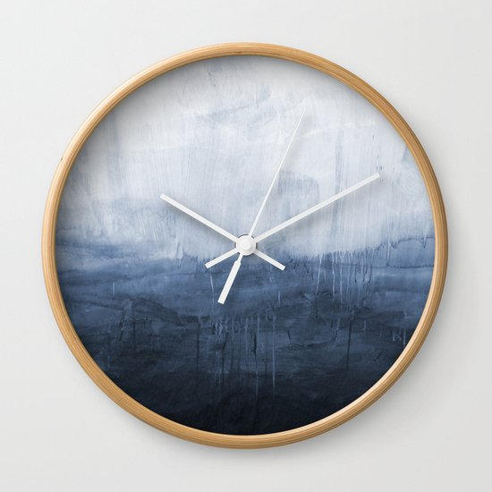 The Storm - Ocean Painting Wall Clock