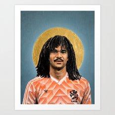 R Guullit (1988) - Traditional Football Icon Art Print