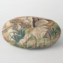 African American Masterpiece 'And Yet You Cannot Hold Them Down' by J. Andre Smith Floor Pillow
