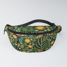 Sunshine Botanical - Dark Version Fanny Pack