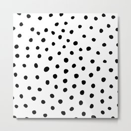 Painted Dots Metal Print