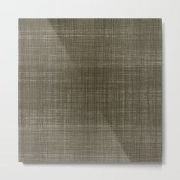 Tissu d'écorce Charcoal Metal Print