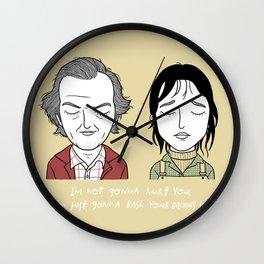 W & J Wall Clock