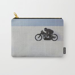 Brough Superior on the Salt Carry-All Pouch