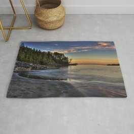 Sunset of Seclusion Rug