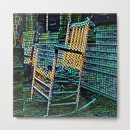 The Old Rocking Chair Metal Print