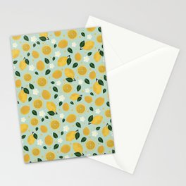 Summer Lemon Stationery Cards